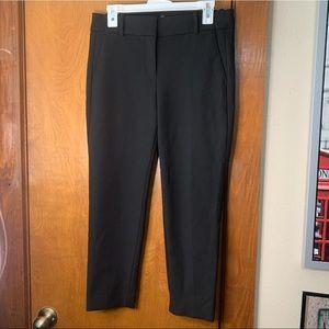 J Crew size 8P black slacks